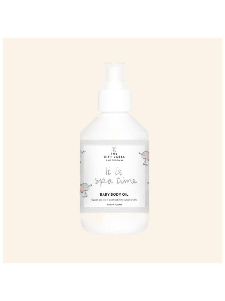 The Gift Label Baby Body oil 250ml - it is spa time