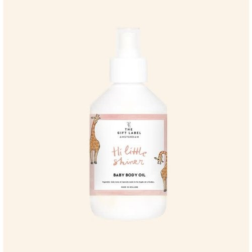 The Gift Label Baby Body oil 250ml - Hi little one