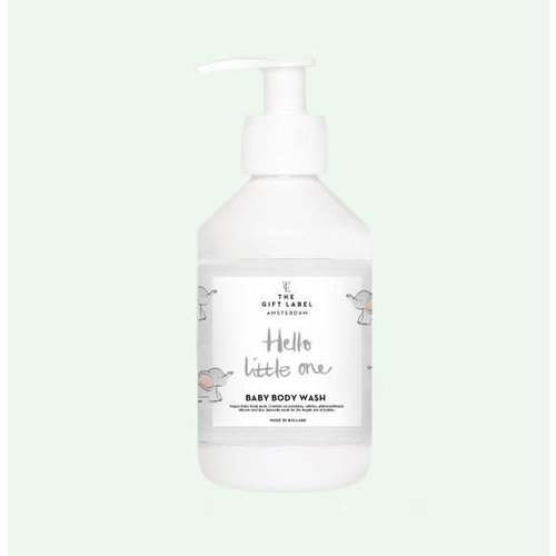 The Gift Label Baby Body Wash 250ml - Hello little one