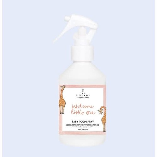 The Gift Label Baby Room spray 250ml - Welcome little one