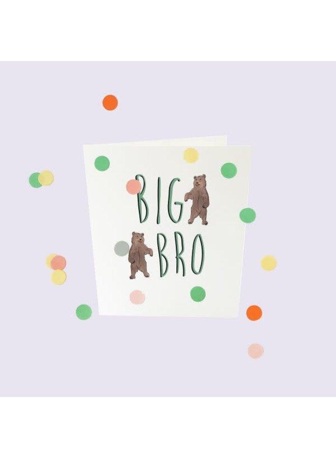 Confetti Cards Baby - Big bro