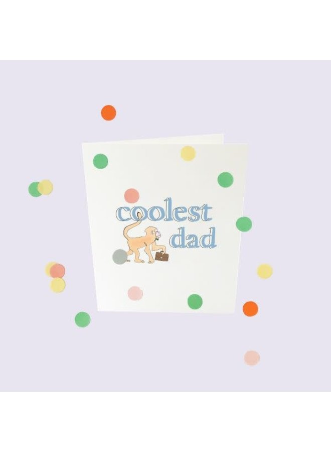Confetti Cards Baby - Coolest dad