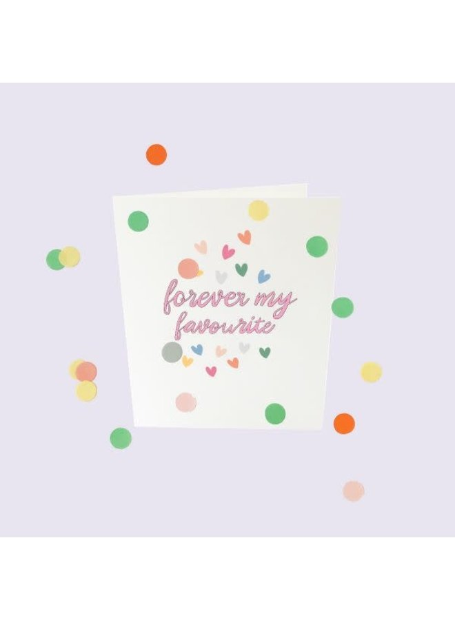 Confetti Cards Baby - Forever my favorite