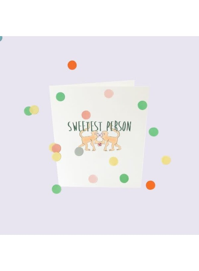 Confetti Cards Baby - Sweetest person