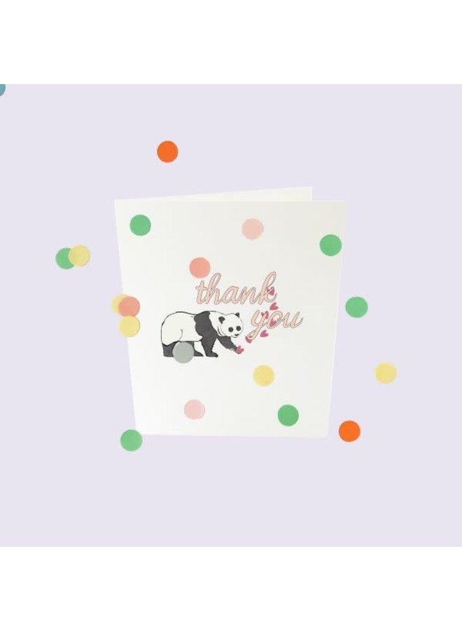Confetti Cards Baby - Thank you