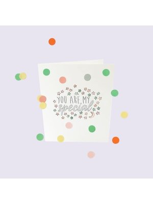 The Gift Label Confetti Cards Baby - You are my special