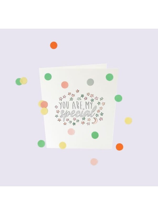 Confetti Cards Baby - You are my special