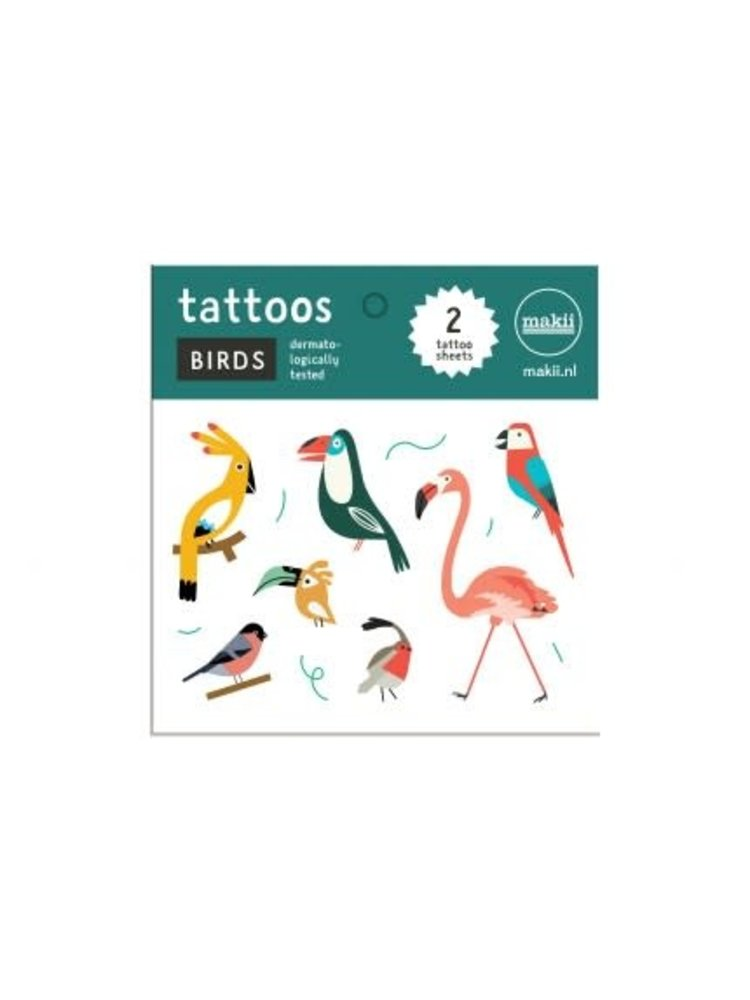 Makii Tattoo 'BIRDS'