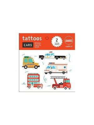 Makii Tattoo 'CARS'