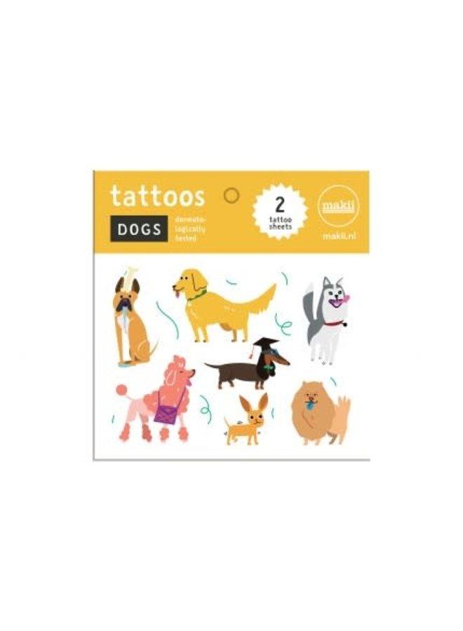 Tattoo 'DOGS'