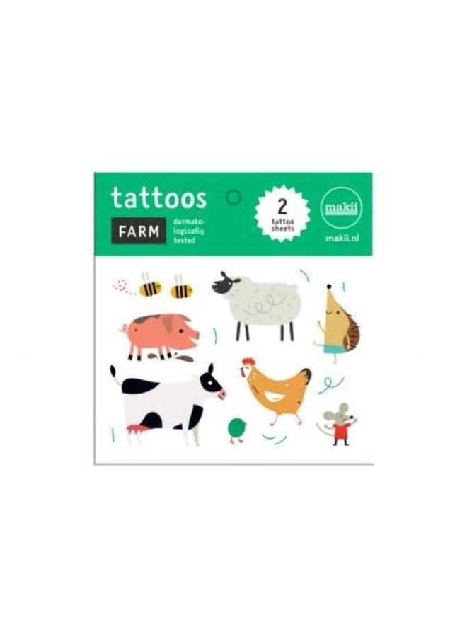 Tattoo 'FARM'