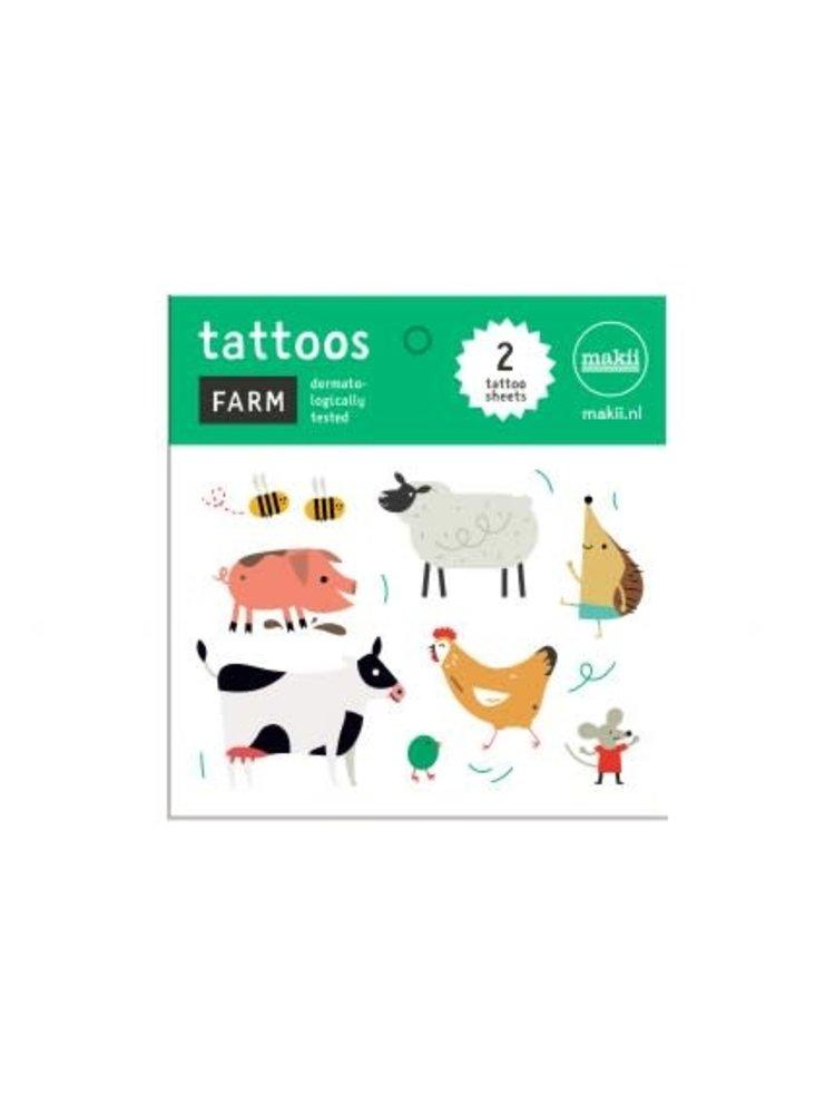 Makii Tattoo 'FARM'