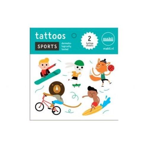 Makii Tattoo 'SPORTS'