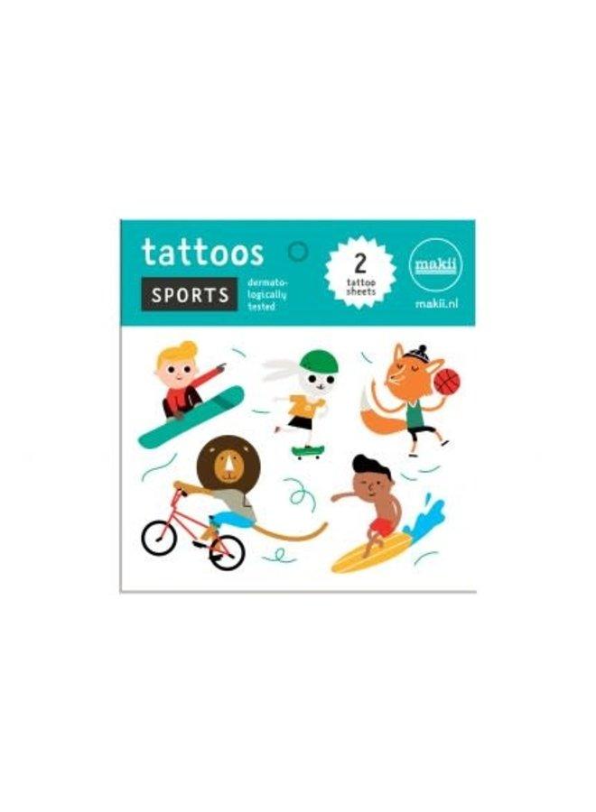 Tattoo 'SPORTS'