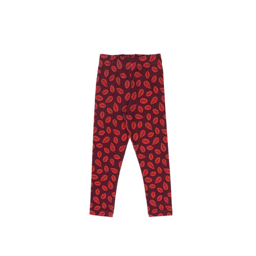 One Day Parade Legging - Red Leaves