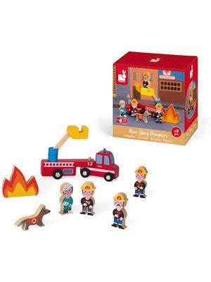 Janod Story Mini - Brandweer