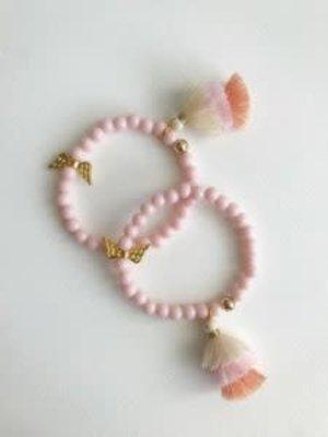 Bymelo Armband Roze Engel