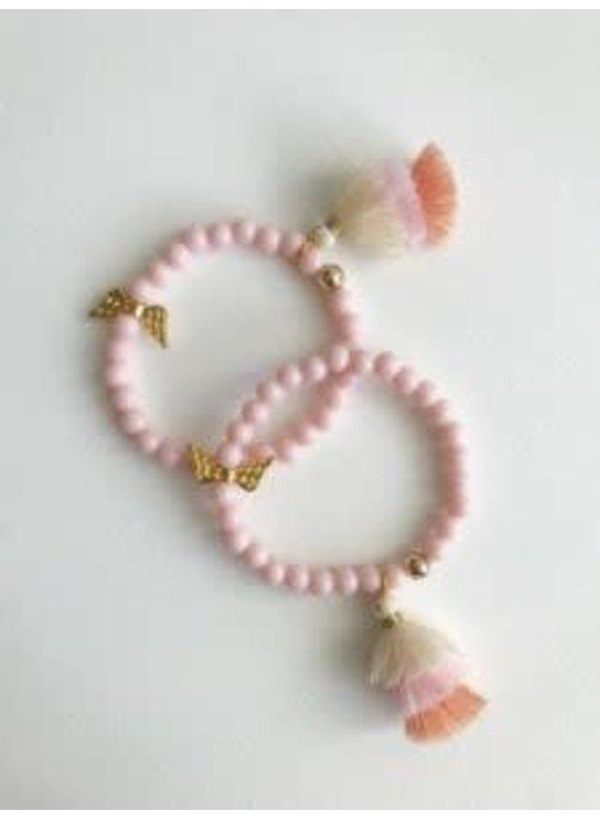 Armband Roze Engel
