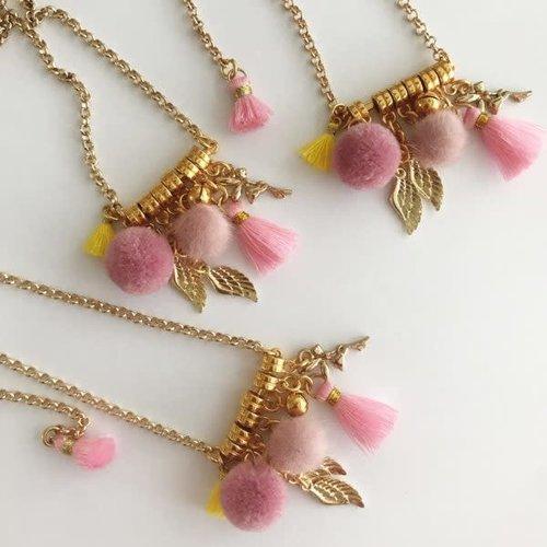 Bymelo Gouden Ketting Engel