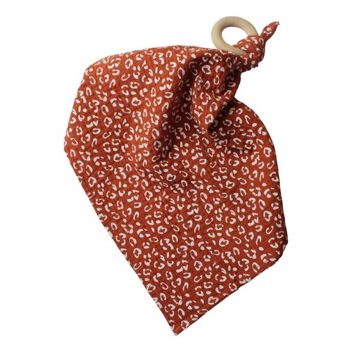 Chewies and More Chewie Doek - Leopard Collection Roest