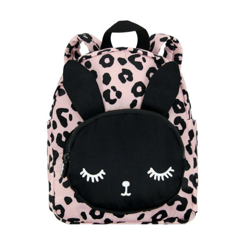 VanPauline Backpack Bunny Leopard Pink Small