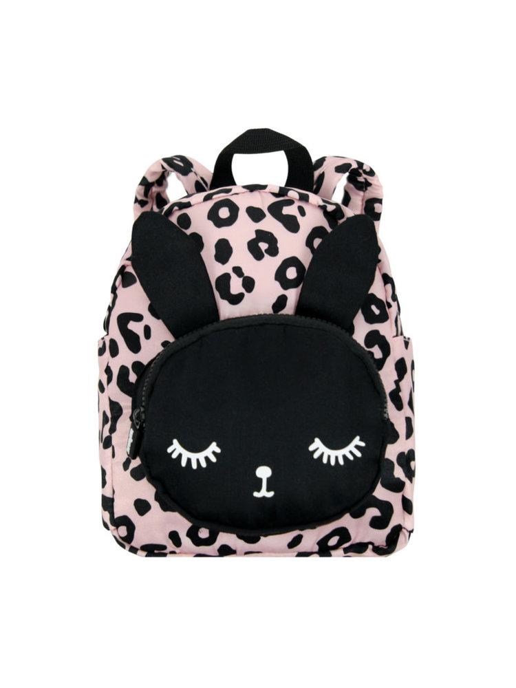 VanPauline Backpack Bunny Leopard Pink Small