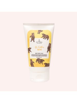 The Gift Label Baby body milk - Hi little one