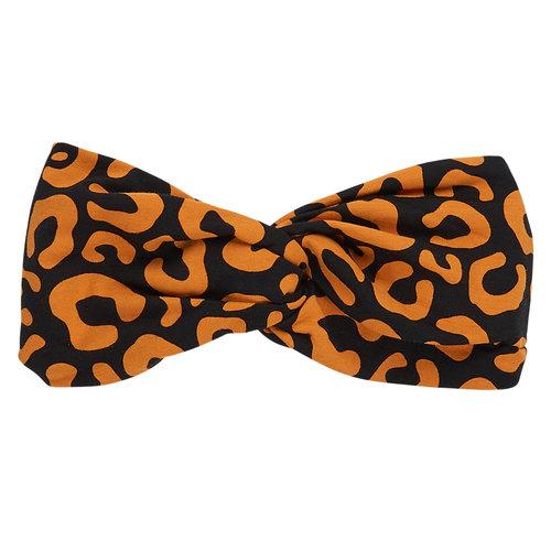 CarlijnQ Twisted Headband Leopard