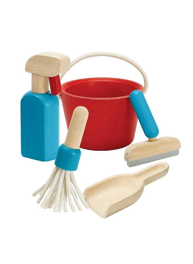 Plan Toys - Cleaning Set