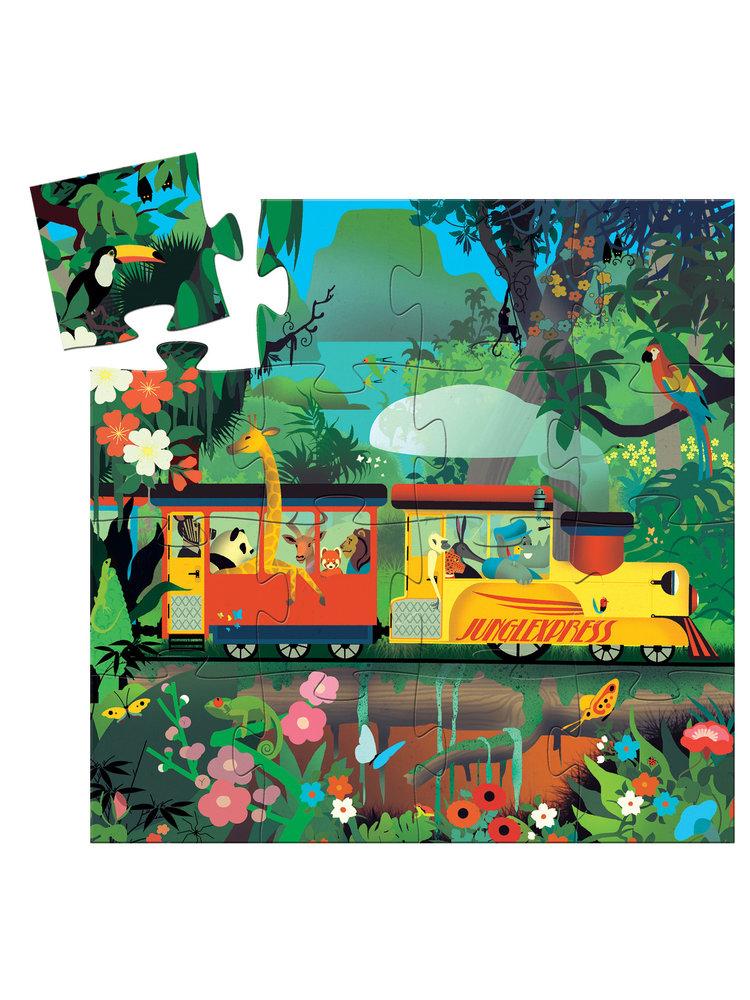 Djeco Puzzel - De Locomotief 16 pcs