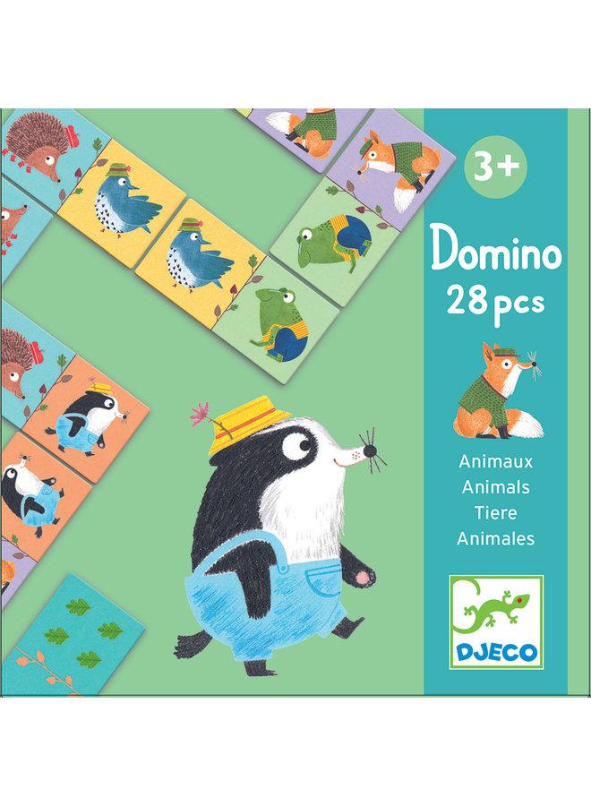 Educatief Spel - Domino Bosdieren - DJ08115