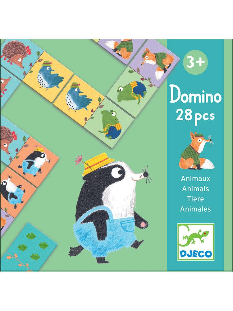 Djeco Educatief Spel - Domino Bosdieren