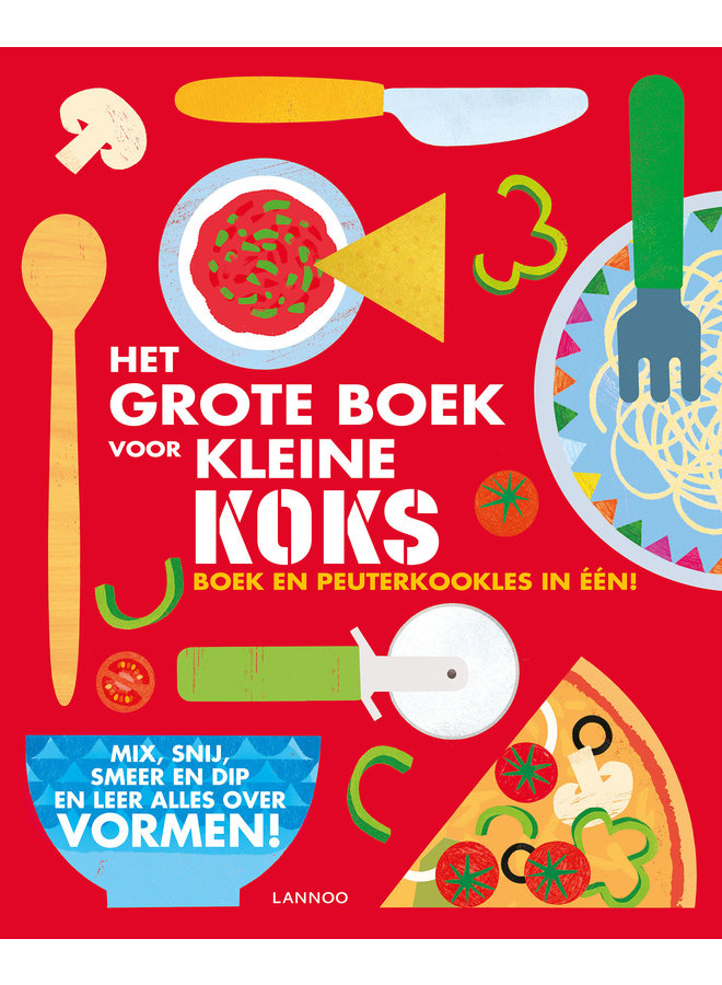 Lannoo - Het grote boek voor kleine koks