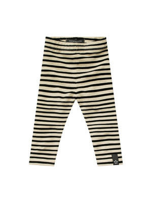 Your Wishes Legging - Stripes Nude