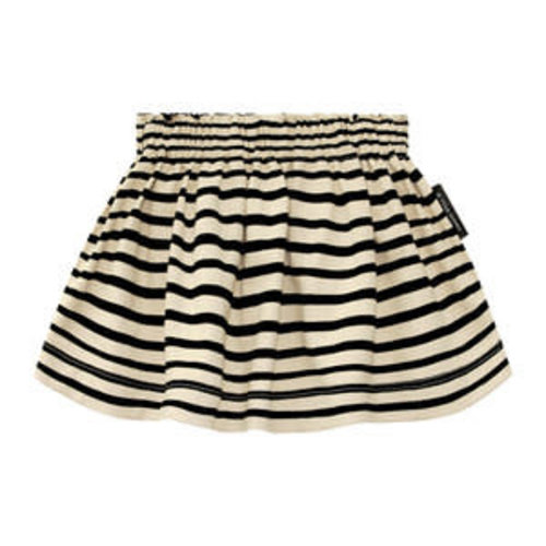 Your Wishes Skirt - Stripes Nude