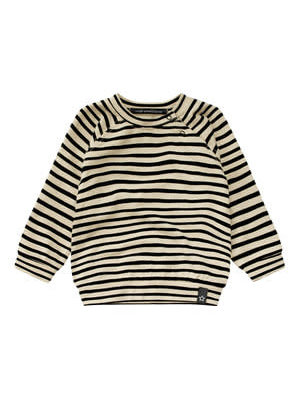 Your Wishes Sweatshirt - Stripes Nude