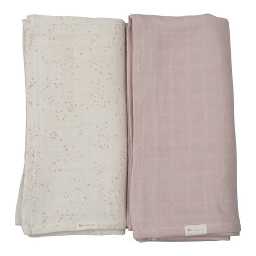 Fabelab Swaddle - Pink Autumn Mist