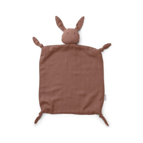 Liewood Agnete / Cuddle Cloth - Rabbit Dark Rose