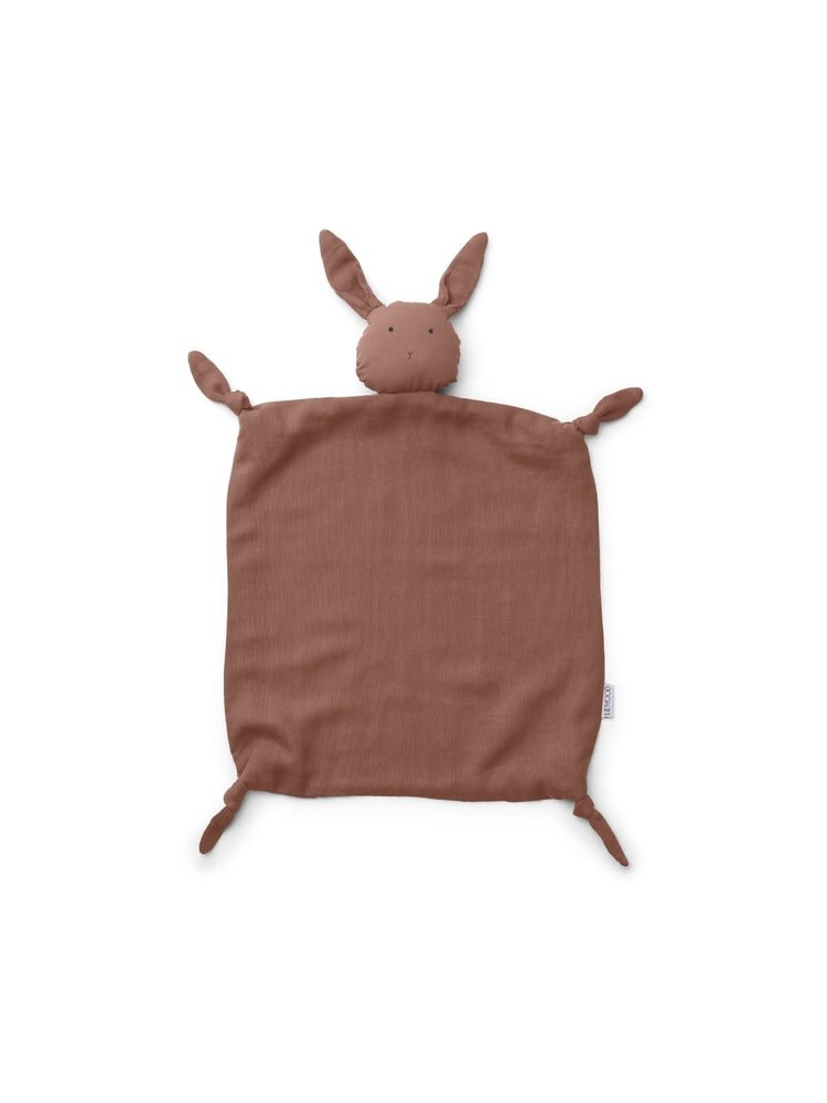 Liewood Agnete / Cuddle Cloth - Rabbit Dark Rose