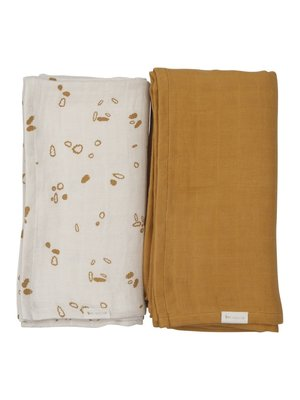 Fabelab Swaddle - Brown Woodland Path