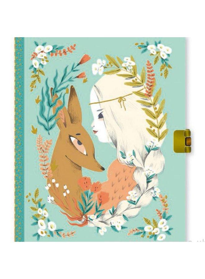 Dagboek met slot - Lucille - DD03610