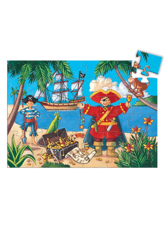 Puzzel - Piraten en de Schat 36 pcs - DJ07720