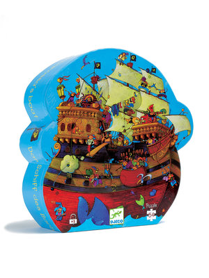 Djeco Puzzel - Piratenboot 54 pcs - DJ07241