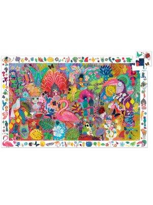 Djeco Observatiepuzzel - Rio Carnaval (200st) - DJ07452