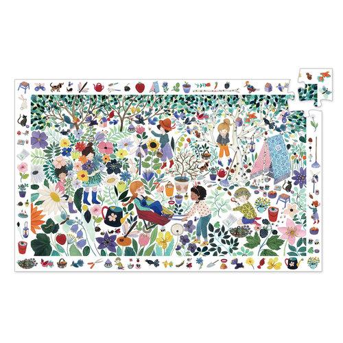 Djeco Observatiepuzzel - 1000 Bloemen (100st) - DJ07507