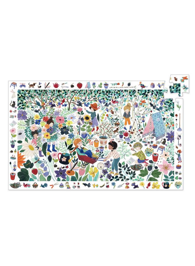Observatiepuzzel - 1000 Bloemen (100st) - DJ07507