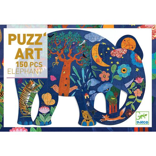 Djeco Puzzel - Olifant (150st) - DJ07652