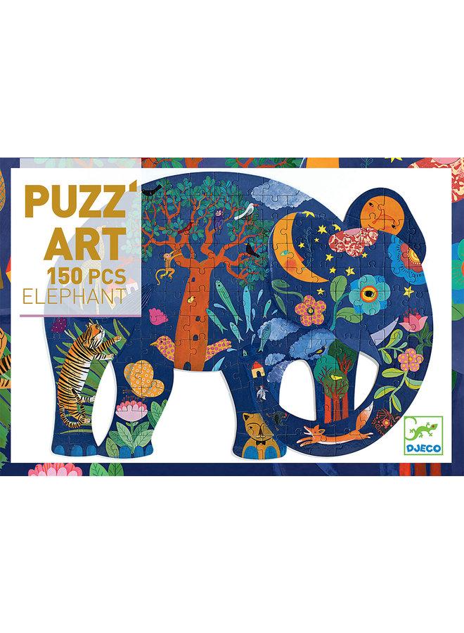 Puzzel - Olifant (150st) - DJ07652