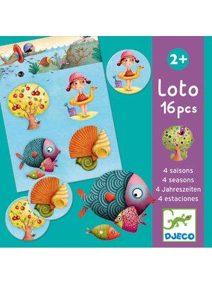 Djeco Educatief spel - 4 seizoenen lotto - DJ08123