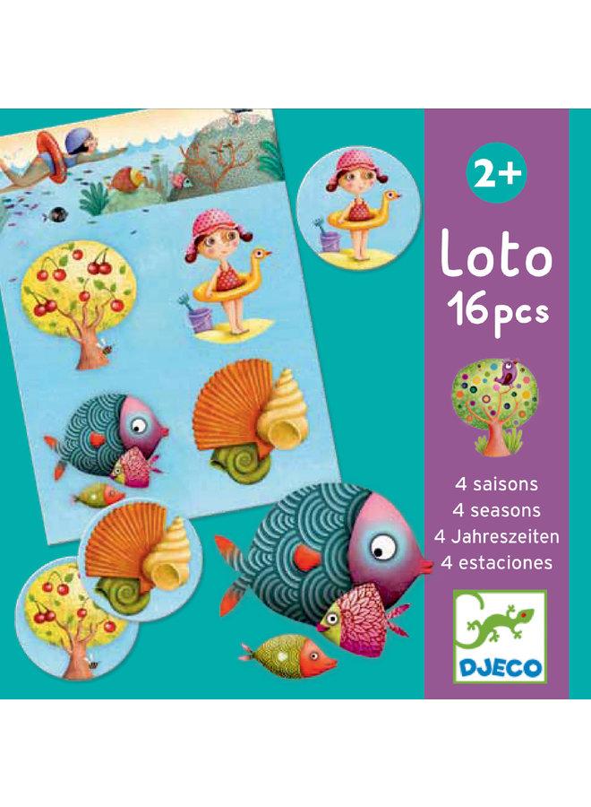 Educatief spel - 4 seizoenen lotto - DJ08123
